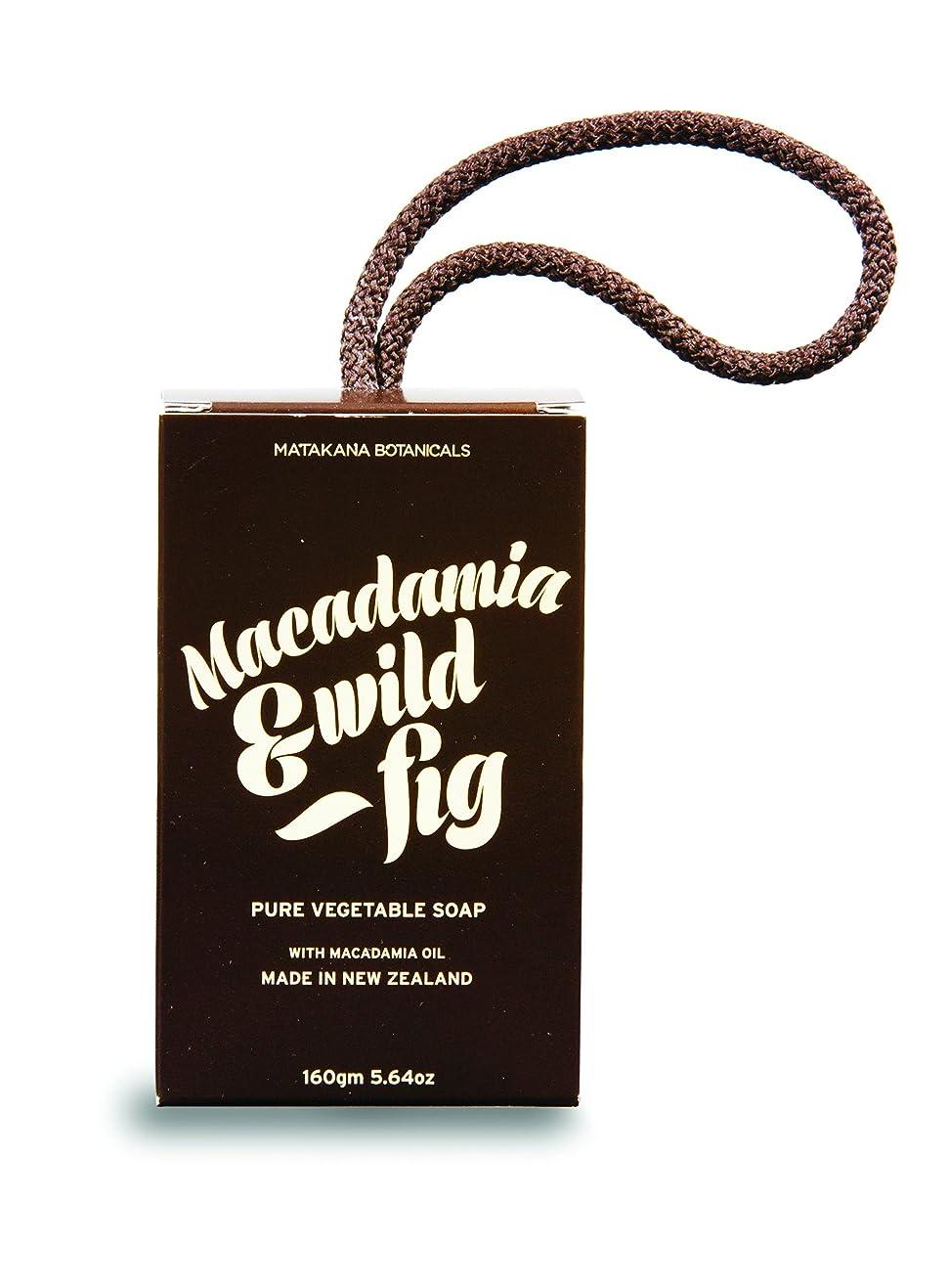 ファントムオープナー使い込むMB(マタカナボタニカルズ) マカダミア&ワイルドフィグ ピュアベジタブルソープ