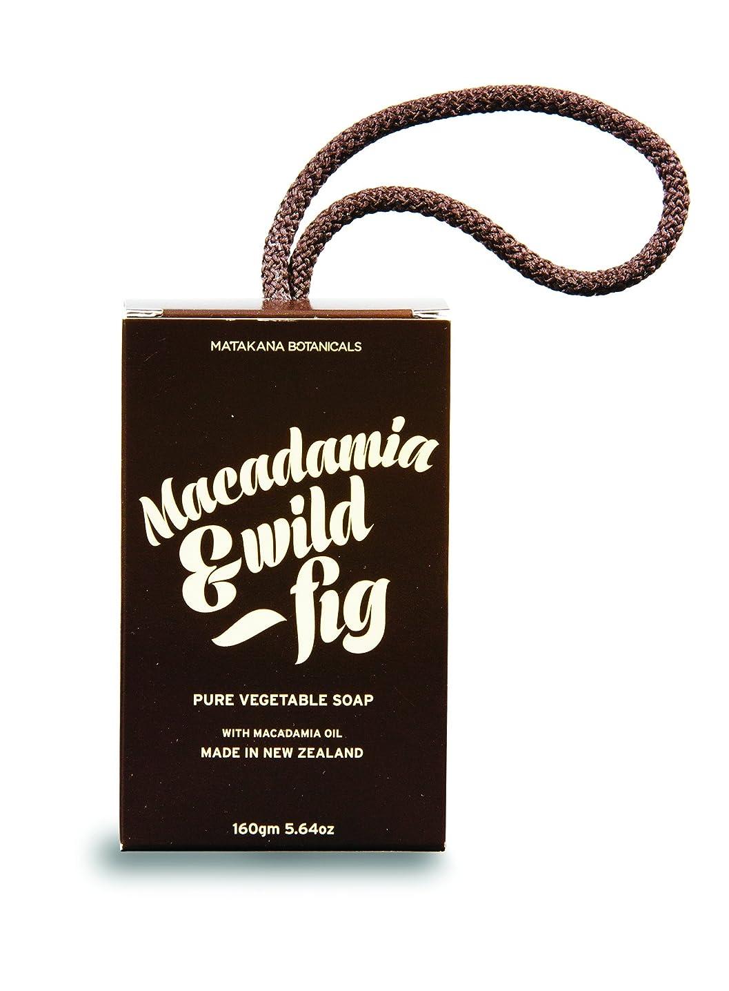 工夫するしたいマッサージMB(マタカナボタニカルズ) マカダミア&ワイルドフィグ ピュアベジタブルソープ