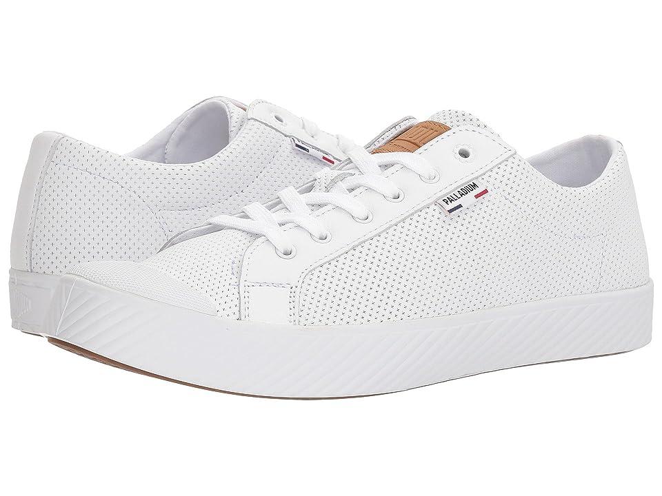 Palladium Pallaphoenix OG LTH (White) Athletic Shoes