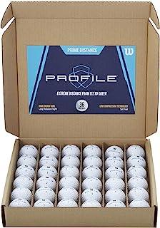 توپ های گلف از راه دور ویلسون Prime (بسته 36)
