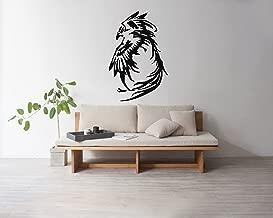 Wall Decals Vinyl Graphics Stickers Phoenix Bird Flying Tribal Tattoo Art Decor Pattern Image DB0006