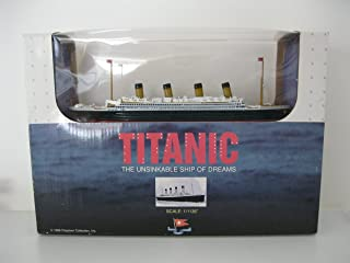 Titanic The Unsinkable Ship of Dreams Scale