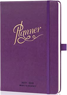 2019-2020 Planner - Academic Weekly, Monthly and Yearly Planner with Monthly Tabs & Pen Loop, 5.75