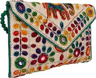 Rajasthani jaipuriart Sling Bag Foldover Clutch Purse