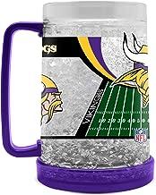 NFL Minnesota Vikings 16oz Crystal Freezer Mug