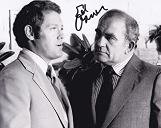 ED ASNER SIGNED 8X10 PHOTO AUTHENTIC AUTOGRAPH UP MARY TYLER MOORE SHOW COA H