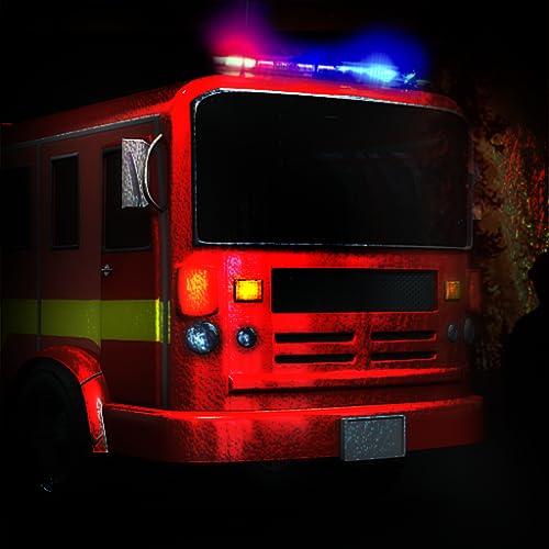 LKW-Brand Rettung: die Notfall-Feuerwehrmann Auto Fahrzeug 911 - Gratis-Edition