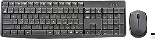 Logicool ロジクール ワイヤレス マウス・耐水設計キーボード セット MK235