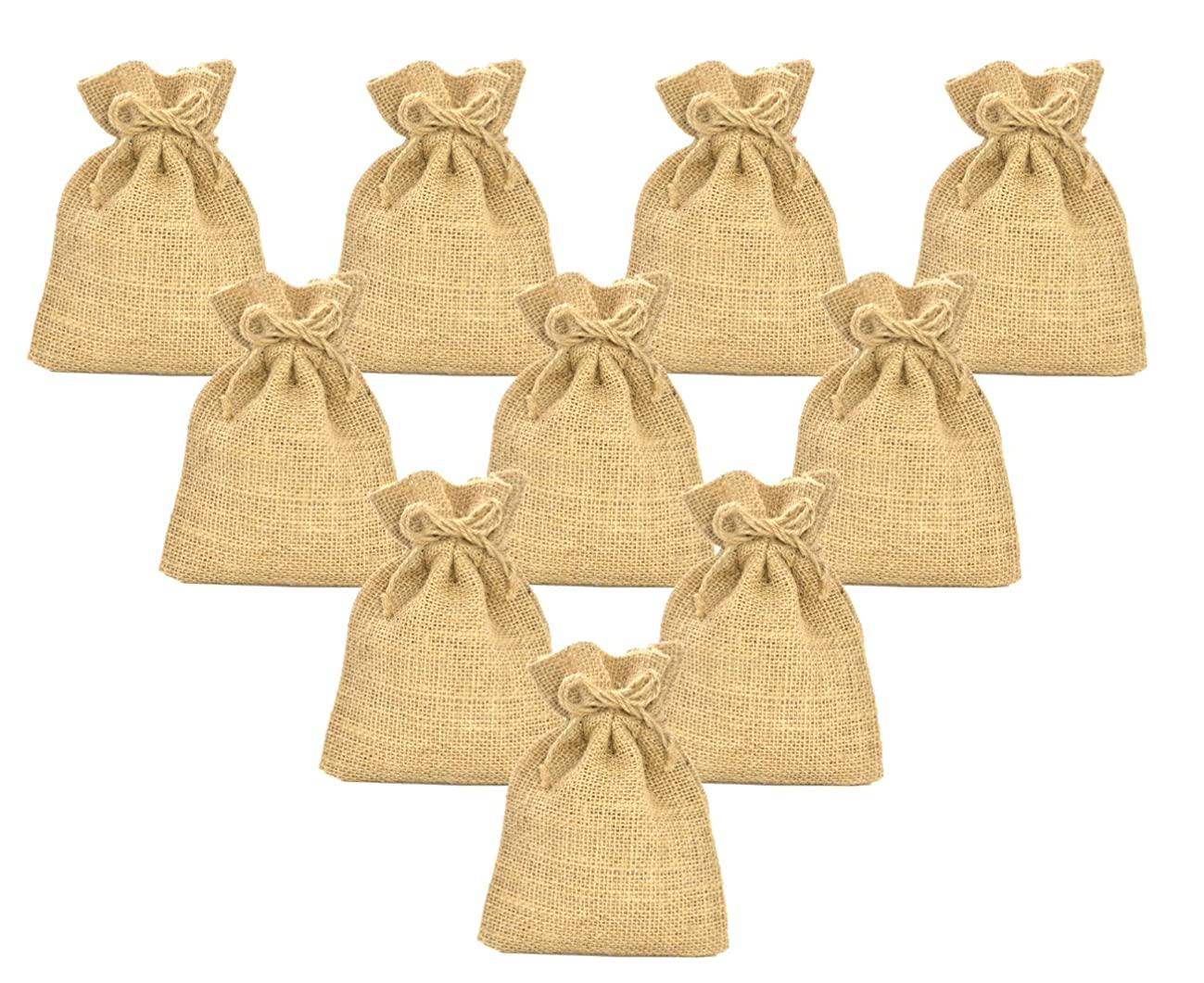 Firefly Craft Burlap Bags, 12 X 18 Inch, 10 Pack