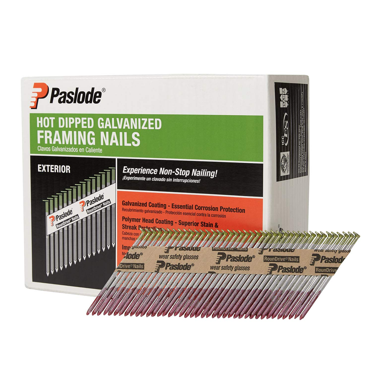 Paslode 650385 120 Inch Collated Galvanized