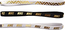 Metallic Hairbands 3-Pack