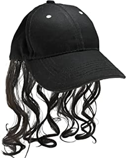 Hillbilly Mullet Cap With Sewn In Polyester Hair - Get Your Redneck Style On