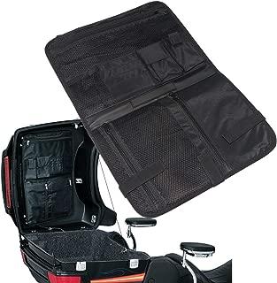 Saddlebag Nylon Lid Organizer Storage Bag for Harley Davidson Tour-Pak Touring Bagger Electra Glide Hard Bags