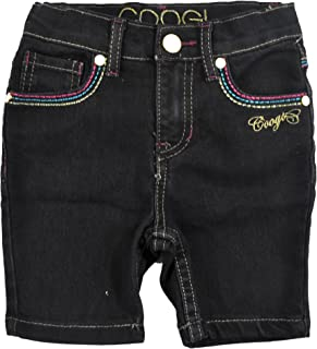 Toddler Girls Black Denim Shorts