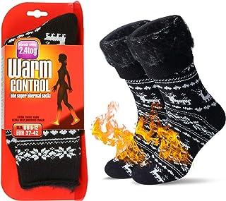 JARSEEN Térmicos de Invierno Calcetines de Lana Super Calor