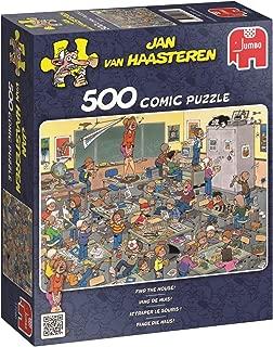 Jumbo Jan Van Haasteren Find The Mouse Jigsaw Puzzle (500 Piece)