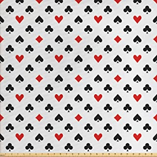 card suit fabric
