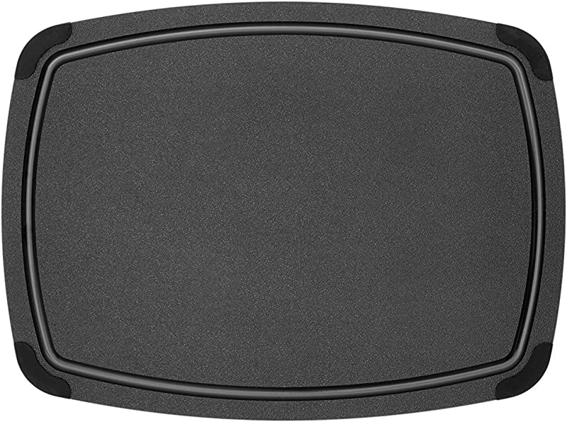 Epicurean Cutting Board With Removable Silicone Corners 17 5 By 13 Black