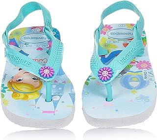 5cbe2debe4 Havaianas Baby Disney Princess. Belle and Cinderella Flip Flops