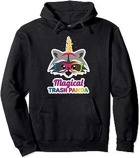 Funny Raccoon Hoodie Kawaii Trash Panda Unicorn Sweatshirt