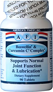AFI Boswellin & Curcuminoids Support Normal Joint Function and Lubrication