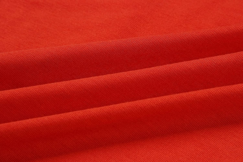 Yeokou Womens Casual Wear to Work Short Sleeve Boat Neck Bodycon Dress Belt Pockets