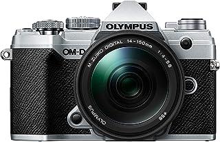 Olympus OM-D E-M5 Mark III Silver Body with M.Zuiko Digital ED 14-150mm F4.0-5.6 II Black Lens Kit