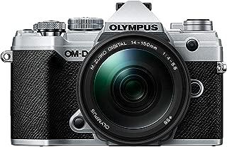 OM-D E-M5 Mark III Silver Body with M.Zuiko Digital ED 14-150mm F4.0-5.6 II Black Lens Kit
