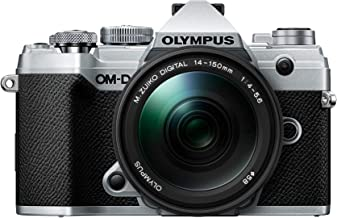 OM-D E-M5 Mark III Silver Body with M.Zuiko Digital ED 14-150mm F4.0-5.6 II Black Lens Kit