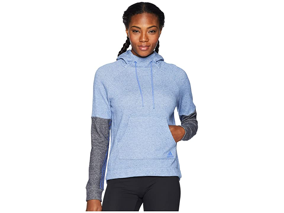 adidas Sport-2-Street Pullover Hoodie (Sport 2 Street Real Lilac Melange/Sport 2 Street Legend Ink) Women