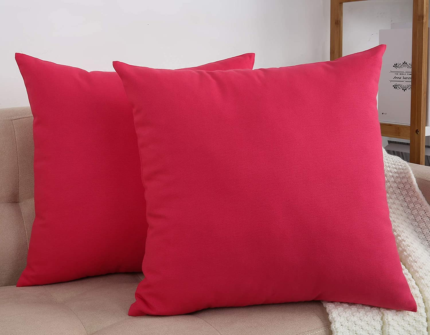 TangDepot New product! New type 67% OFF of fixed price Cotton Solid Throw Pillow Covers x Watermel 16