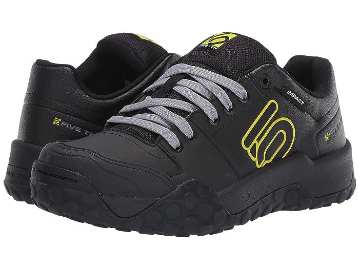 Five Ten  Impact Sam Hill (Black/Grey/Semi Solar Yellow) Mens Shoes