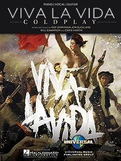 Hal Leonard Viva La Vida by Coldplay Arranged for Piano, Voc