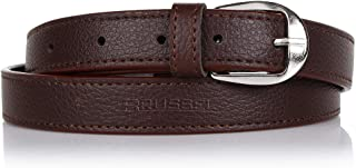 BRUSSEL : PU Leather Belt for Girl and Ladies Free Size (Black, upto 40 Size)…