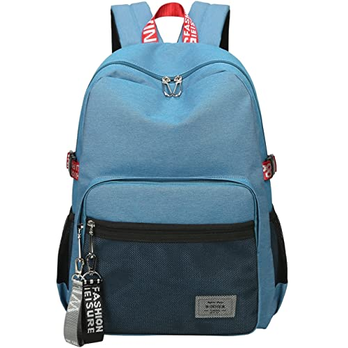 d49284041a14 Mygreen Casual Style Lightweight Canvas Backpack School Bag Travel Daypack