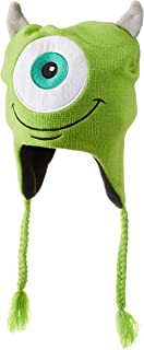 Disney Pixar Monsters University Inc Mike Wazowski Laplander Cap Hat