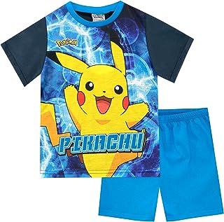Mewtwo et Psyduck Gar/çon Ensemble De Pyjamas Pok/émon Pikachu