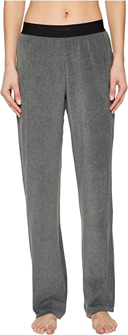 LAUREN Ralph Lauren - Soft Stretch Microfleece Logo Elastic Pants
