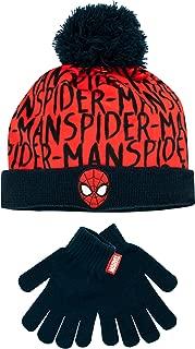 spiderman hat set
