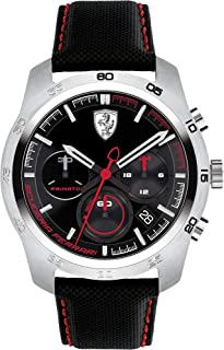 Ferrari Primato Chronograph Black and Red Dial Men's Watch 830444