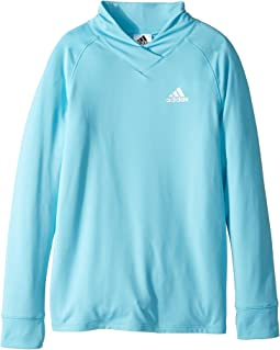 adidas Kids - Cozy Pullover Top (Big Kids)