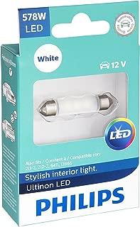 Philips 578 Ultinon LED Bulb (White), 1 Pack