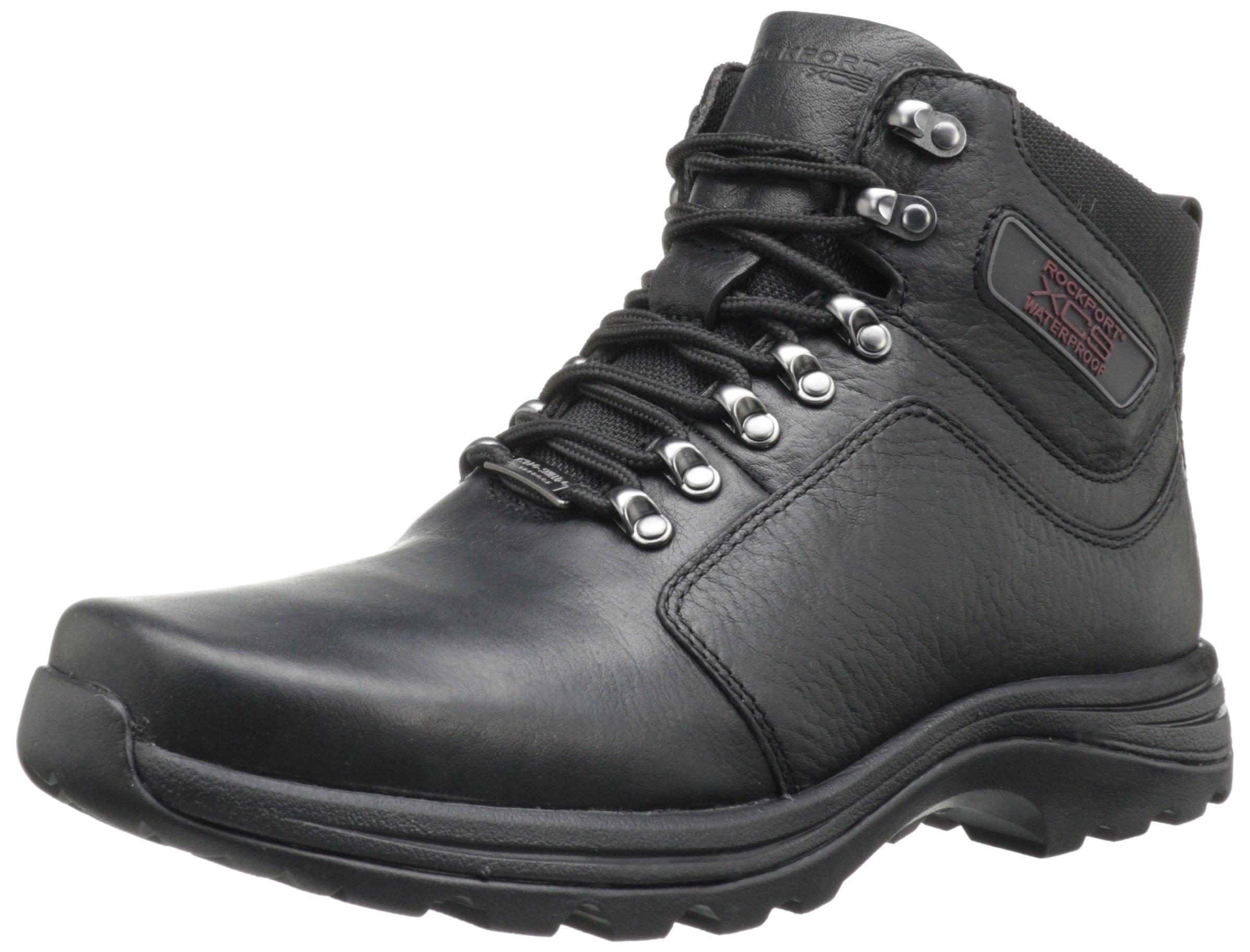 Rockport Mens Elkhart Snow Boot Black 9 5