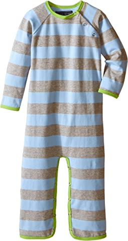 Green/Blue/Grey Long Sleeve Jumpsuit (Infant)