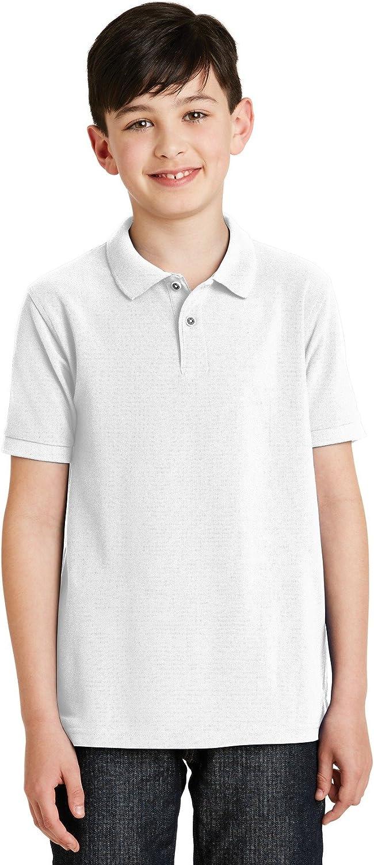 XtraFly Apparel Boys Youth Silk Touch Polo Shirt Y500