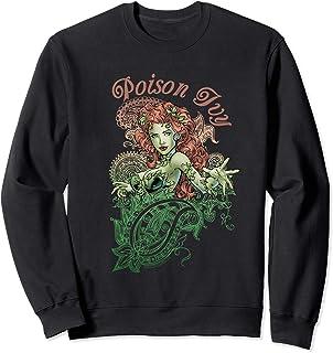 DC Comics Justice League Poison Ivy Paisley Sweatshirt