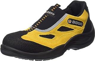 Base BO475 Zapatillas de seguridad para hombre de titanio S1P SRC con cuatro agujeros