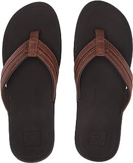 Mens Lthr Ortho-Bounce Coast Sandals