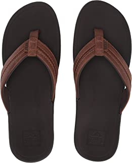 Reef Men's Lthr Ortho-Bounce Coast Sandal