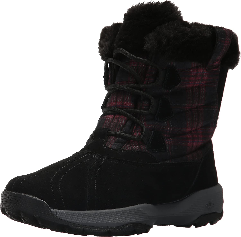 Skechers Womens Go Walk Outdoors - Crest Winter Boot